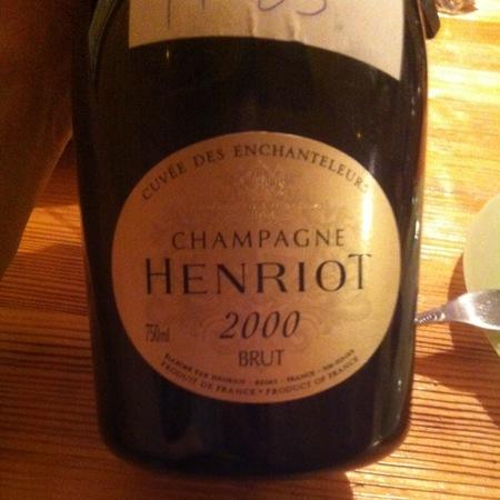 Henriot Cuvée des Enchanteleurs Brut Champagne Blend 2000