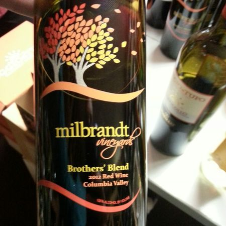 Milbrandt Vineyards Brothers' Blend Columbia Valley Cabernet Sauvignon Blend 2012
