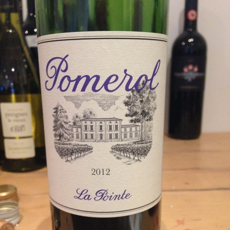 Château La Pointe Pomerol Red Bordeaux Blend 2012