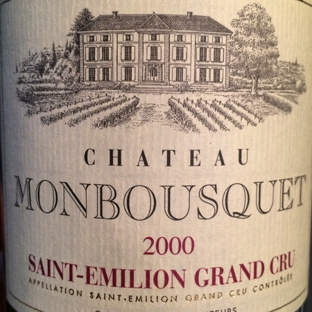 Château Monbousquet Saint-Emilion Red Bordeaux Blend 2000