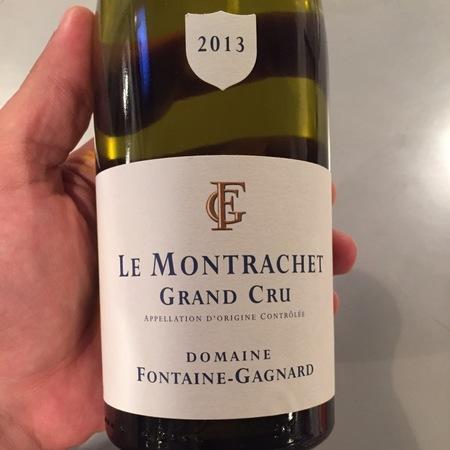 Domaine Fontaine-Gagnard Le Montrachet Grand Cru Chardonnay 2013