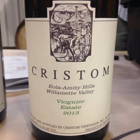Cristom Estate Eola-Amity Hills Viognier 2015