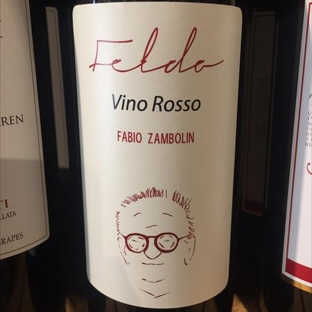 Fabio Zambolin Felda Vino Rosso Nebbiolo Blend