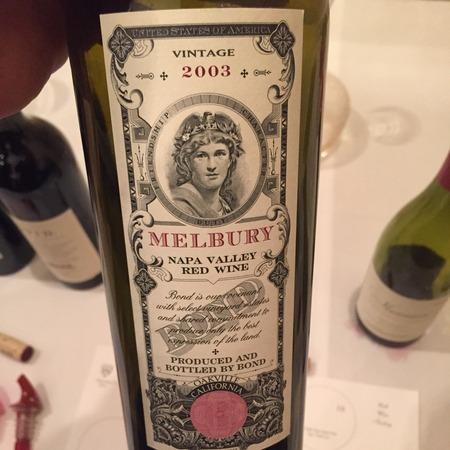 Bond Melbury Napa Valley Red Bordeaux Blend 2003 (1500ml)