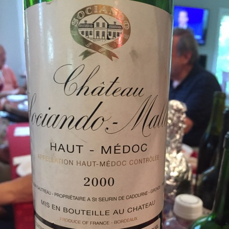Château Sociando-Mallet Haut-Médoc Red Bordeaux Blend 2012
