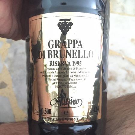 Altesino Riserva Grappa di Brunello Sangiovese NV