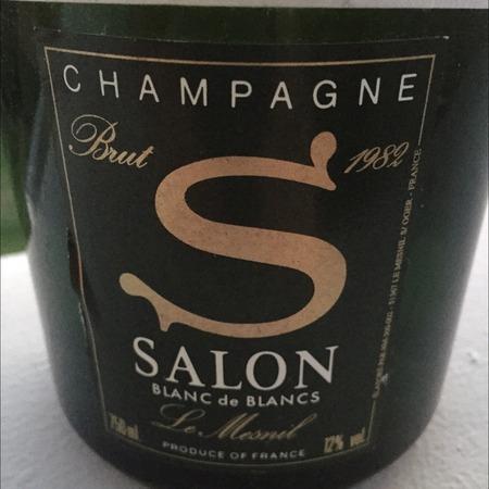Salon 'S' Blanc de Blancs Brut Le Mesnil Chardonnay 1982