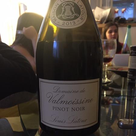 Louis Latour Domaine de Valmoissine Vin de Pays des Coteaux du Verdon Pinot Noir 2013