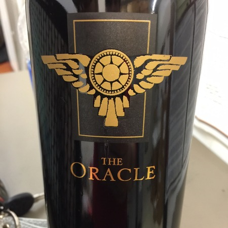 Miner Family The Oracle Napa Valley Cabernet Sauvignon Blend 2012