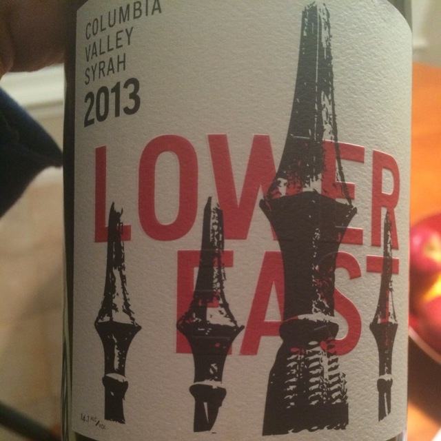Lower East Columbia Valley Syrah 2013