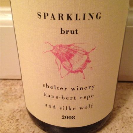 Shelter Winery Hans-Bert Espe Und Silke Wolf Brut Blanc de Noir 2012