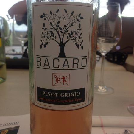 Bacaro Pinot Grigio 2015