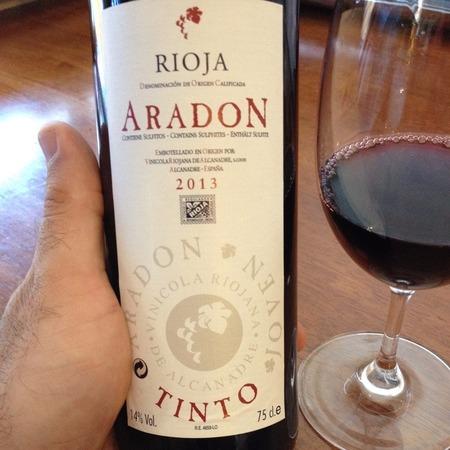 Aradon Rioja Tempranillo 2016
