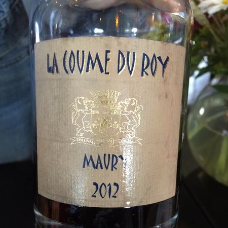 Domaine de la Coume du Roy Maury Grenache Blend 2012 (500ml)