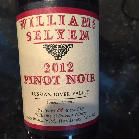 Williams Selyem Russian River Valley Pinot Noir 2014