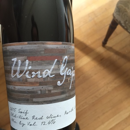 Wind Gap Wines Soif North Coast Old Vine Red Blend 2015