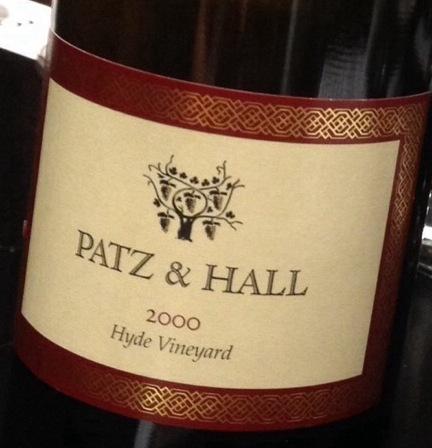 Patz & Hall Hyde Vineyard Pinot Noir 2000
