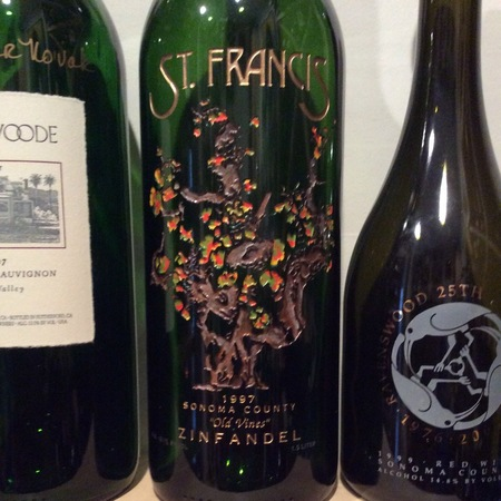 St. Francis Winery Old Vines Sonoma County Zinfandel 1997