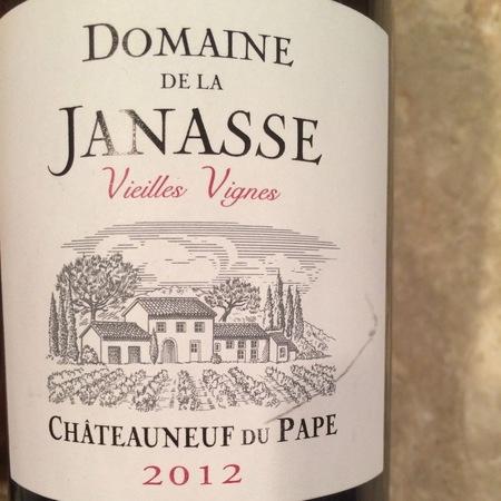 Domaine de la Janasse Vieilles Vignes Châteauneuf-du-Pape Red Rhone Blend 2012