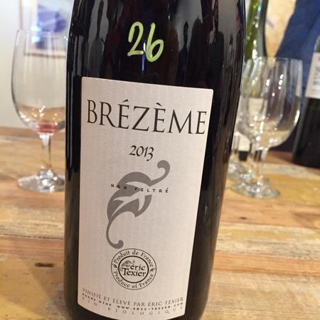Éric Texier Côtes du Rhône Brézème Syrah 2013