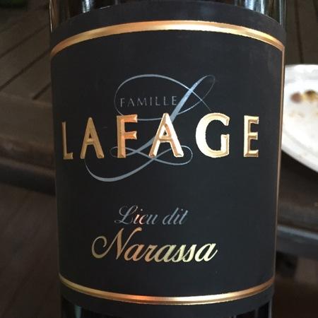Domaine Lafage La Narassa Côtes du Roussillon Red Blend 2015