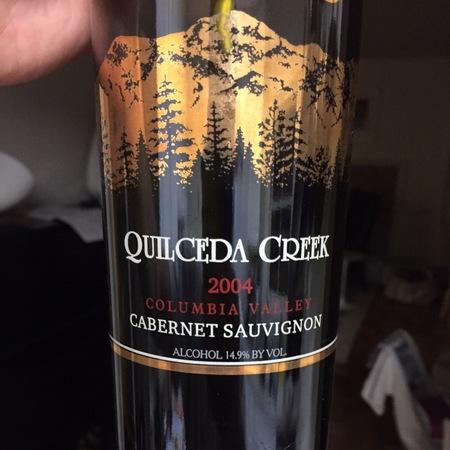 Quilceda Creek Washington Cabernet Sauvignon 2004