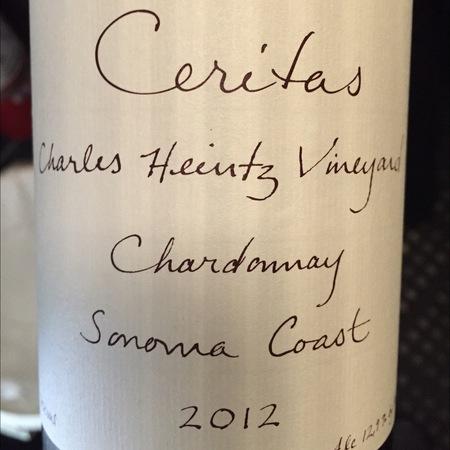 Ceritas Charles Heintz Vineyard Chardonnay 2015