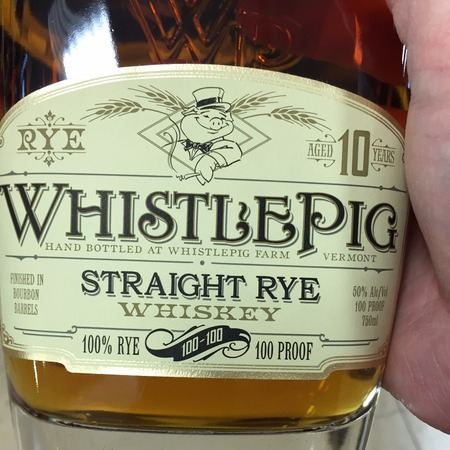 Whistlepig 10 Year Straight Rye Whiskey NV