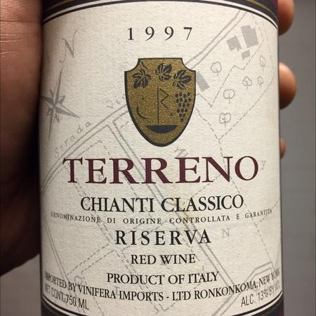 Terreno Riserva Chianti Classico Sangiovese Blend 1997