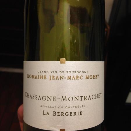 Domaine Jean-Marc Morey La Bergerie Chassagne-Montrachet Chardonnay 2014