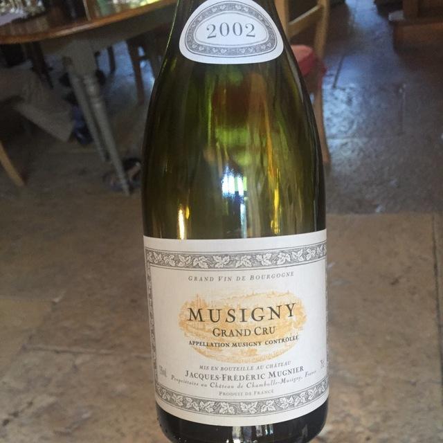 Musigny Grand Cru Pinot Noir 2002
