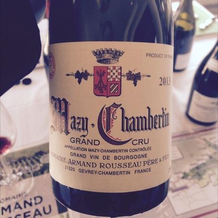 Domaine Armand Rousseau  Charmes-Chambertin Grand Cru Pinot Noir 2013