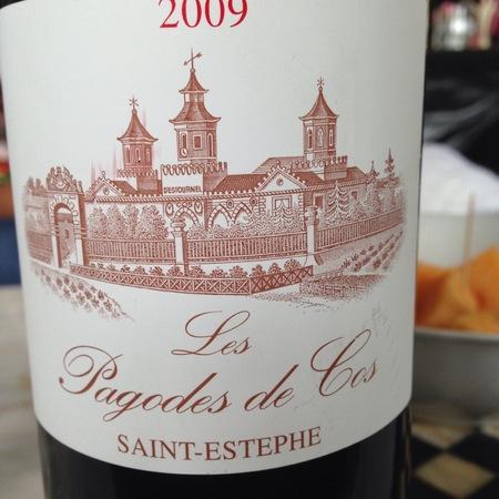 Château Cos d'Estournel Les Pagodes de Cos Saint-Estéphe Red Bordeaux Blend 2009