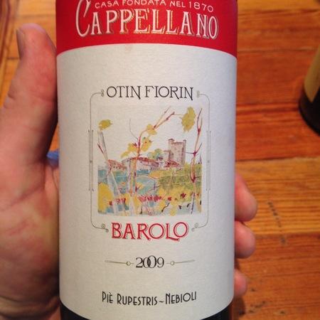 Cappellano Otin Fiorin Piè Rupestris-Nebioli Barolo Nebbiolo 2012