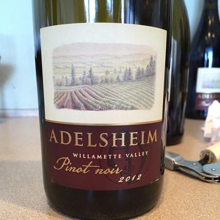 Adelsheim Willamette Valley Pinot Noir 2015