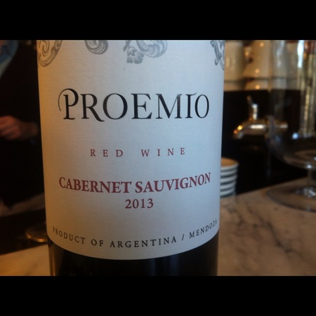 Proemio Mendoza Cabernet Sauvignon 2015