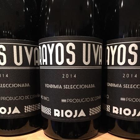 Olivier Rivière Rayos Uva Rioja Tempranillo Blend 2014