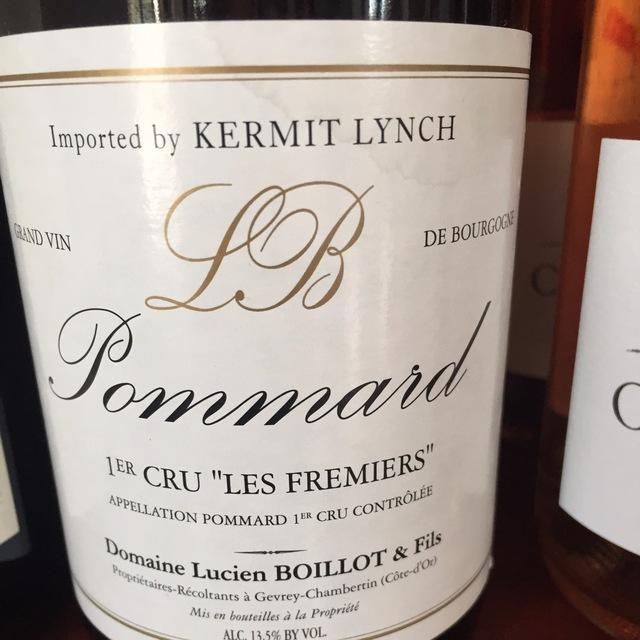 Les Fremiers Pommard 1er Cru Pinot Noir 2006