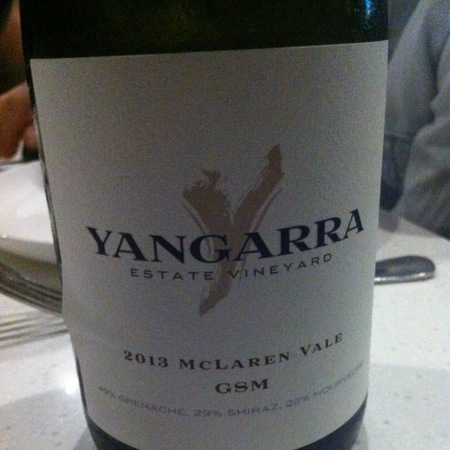 Yangarra Estate McLaren Vale GSM Grenache Blend 2013