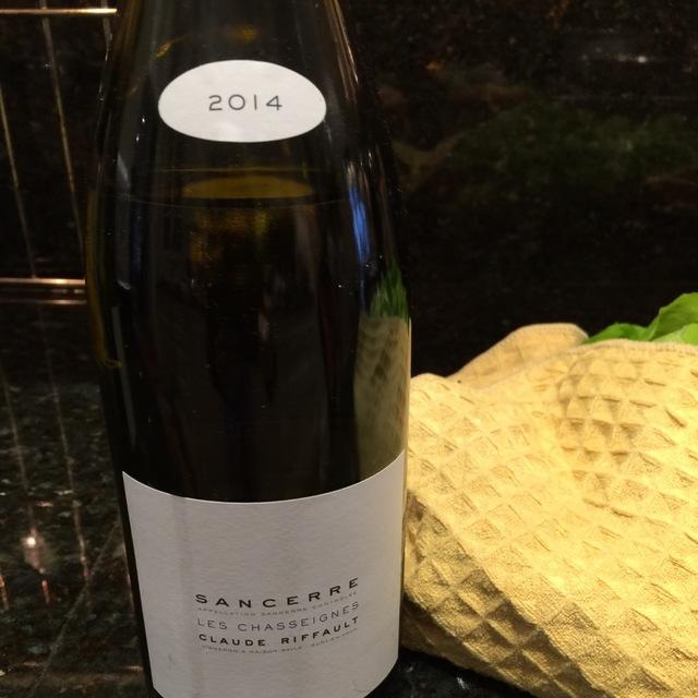 Les Chasseignes Sancerre Sauvignon Blanc 2014
