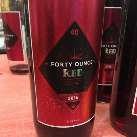 Julien Braud Forty Ounce  Red Gamay 2016 (1000ml)
