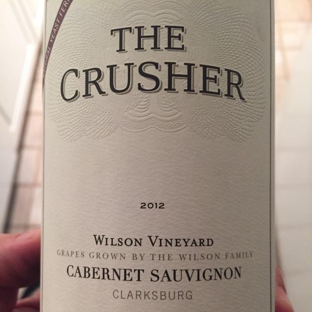 Wilson Vineyard Cabernet Sauvignon 2012