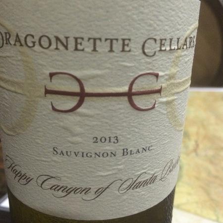 Dragonette Cellars Happy Canyon of Santa Barbara Sauvignon Blanc 2013