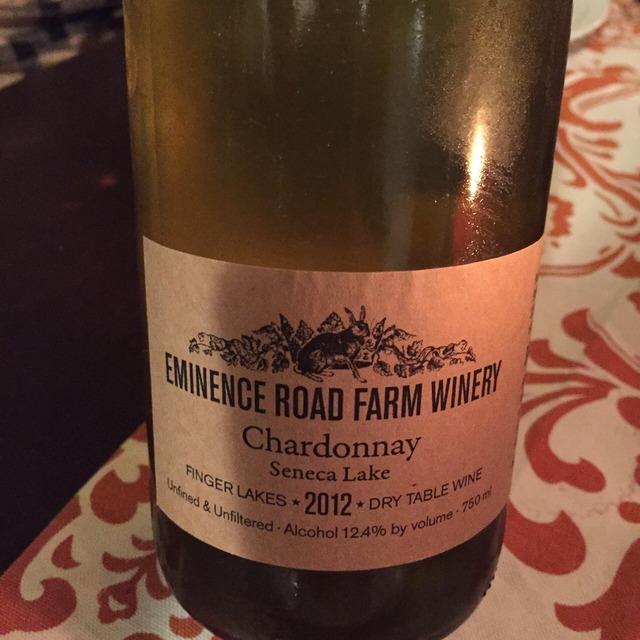 Seneca Lake Chardonnay 2013