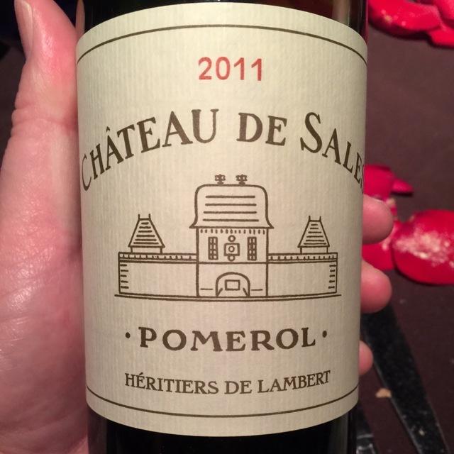 Pomerol Red Bordeaux Blend 2011