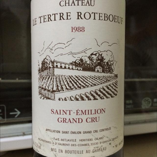 Saint-Émilion Red Bordeaux Blend 1988