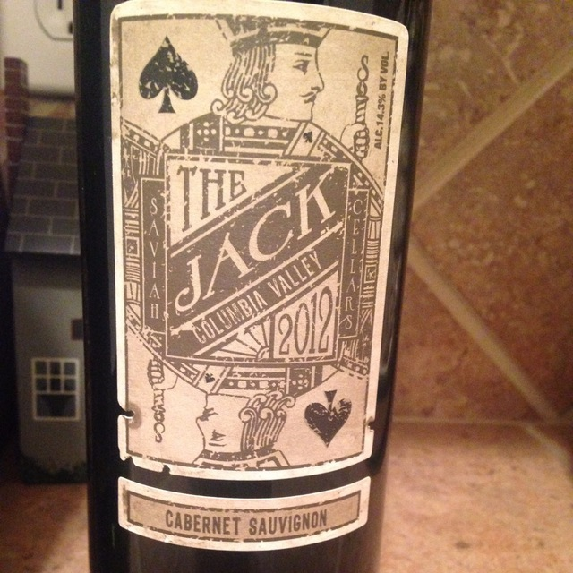 The Jack Columbia Valley Cabernet Sauvignon 2012