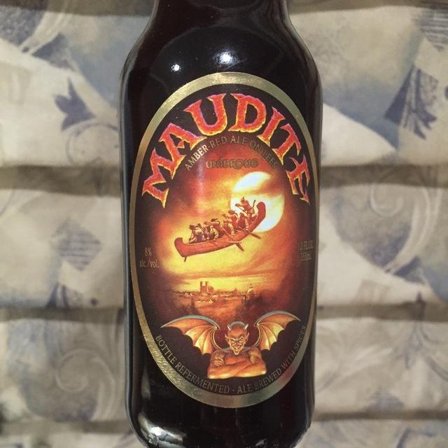 Maudite Amber-Red Ale on Lees NV