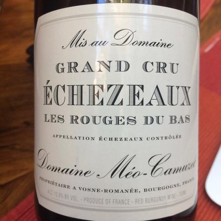 Domaine Méo-Camuzet Les Rouges du Bas Echezeaux Grand Cru Pinot Noir 2015