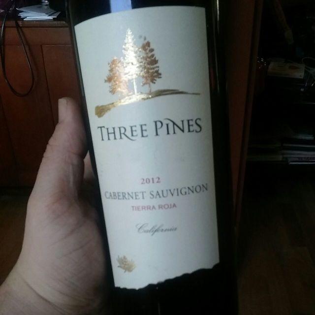 Three Pines Cabernet Sauvignon  2013